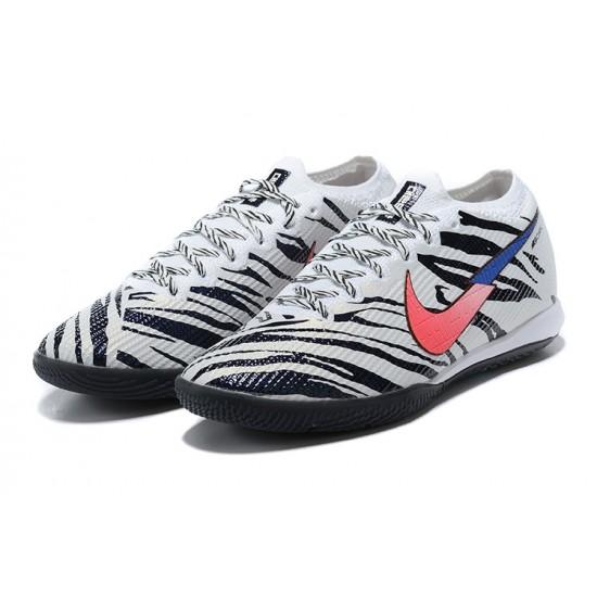 Nike Mercurial Vapor 13 Elite IC White Black Pink Blue Football Boots