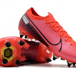 Nike Mercurial Vapor 13 Elite SG Low Pink Black Football Boots