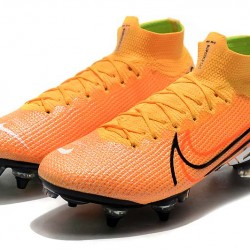 Nike Mercurial Vapor 13 Elite SG-PRO AC High Orange Black White Football Boots
