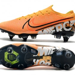 Nike Mercurial Vapor 13 Elite SG-PRO AC Low Orange Black White Football Boots