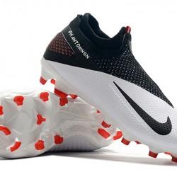 Nike Phantom Vision Elite DF FG Black White Football Boots
