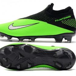 Nike Phantom Vision Elite DF FG Green Black Silver Football Boots