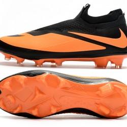 Nike Phantom Vision Elite DF FG Orange Black Football Boots
