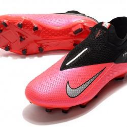 Nike Phantom Vision Elite DF FG Peach Black Silver Football Boots