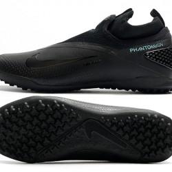 Nike React Phantom Vision 2 Pro Dynamic Fit TF All Black Football Boots