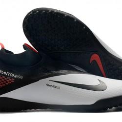 Nike React Phantom Vision 2 Pro Dynamic Fit TF Black Grey Orange Football Boots