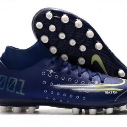 Nike Superfly 7 Academy AG Deep Blue White Football Boots