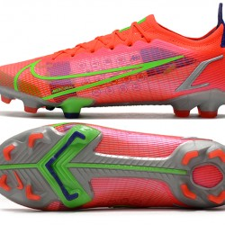 Nike Superfly 8 Elite FG Low Mens Womens Green Red Silver Black Football Boots