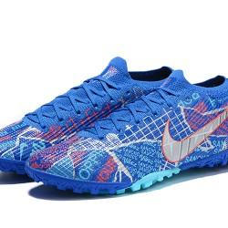 Nike Vapor 13 Elite TF Blue Grey LtBlue Football Boots