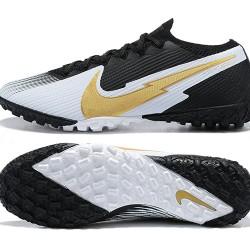 Nike Vapor 13 Elite TF Gold Black Grey Football Boots