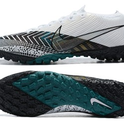 Nike Vapor 13 Elite TF Green White Black Football Boots