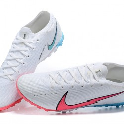 Nike Vapor 13 Elite TF Pink Ltblue White Black Football Boots