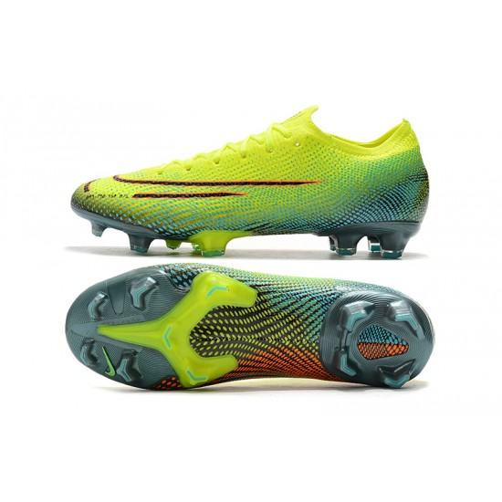 Nike Dream Speed 002 Mercurial Vapor 13 Elite FG Yellow Green Red Black Football Boots