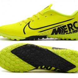 Nike Mercurial Vapor 13 Academy TF Black Yellow Football Boots