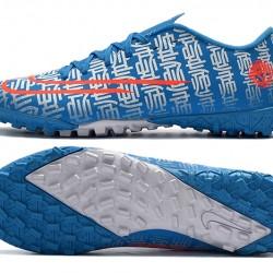Nike Mercurial Vapor 13 Academy TF Blue Orange White Football Boots