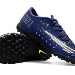 Nike Mercurial Vapor 13 Academy TF Green Deep Blue Football Boots