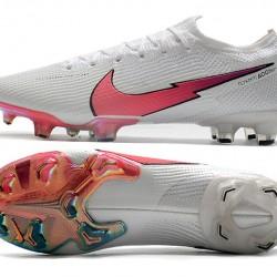 Nike Mercurial Vapor 13 Elite FG Beige White Pink Football Boots