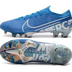 Nike Mercurial Vapor 13 Elite FG Blue White Football Boots