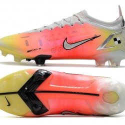 Nike Mercurial Vapor 14 Elite FG Low Mens Orange Grey White Black Football Boots