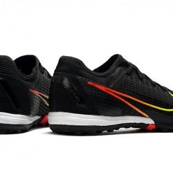 Nike Mercurial Zoom Vapor 14 Pro TF Mens Black Green White Football Boots