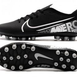 Nike Vapor 13 Academy AG R Black White Football Boots