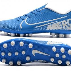 Nike Vapor 13 Academy AG R Blue White Football Boots