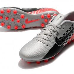 Nike Vapor 13 Academy AG R Grey Black Red Football Boots
