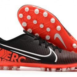 Nike Vapor 13 Academy AG-R Black Orange White Football Boots