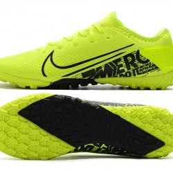 Nike Vapor 13 Pro TF Black Green Yellow Football Boots
