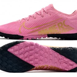 Nike Vapor 13 Pro TF Black Pink Gold Football Boots