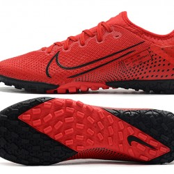 Nike Vapor 13 Pro TF Black Red Football Boots