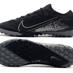Nike Vapor 13 Pro TF Black Silver Football Boots