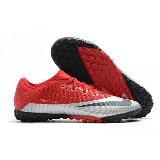 Nike Vapor 13 Pro TF Red Silver Black Football Boots