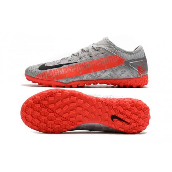 Nike Vapor 13 Pro TF Silver Orange Black Football Boots