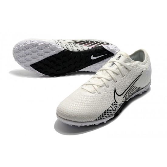 Nike Vapor 13 Pro TF White Beige Black Football Boots
