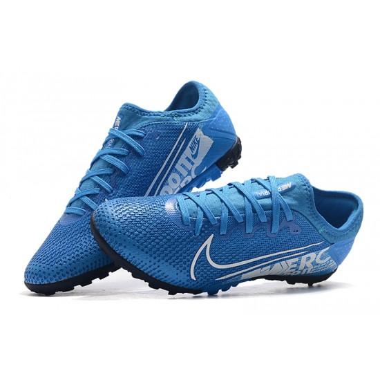 Nike Vapor 13 Pro TF White Blue Black Football Boots