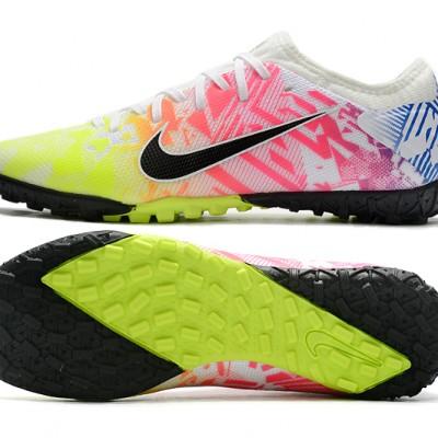 Nike Vapor 13 Pro TF White Green Black Multi Football Boots