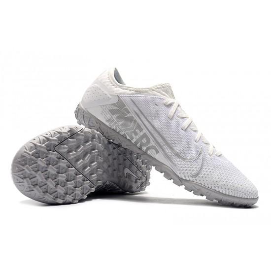 Nike Vapor 13 Pro TF White Silver Football Boots