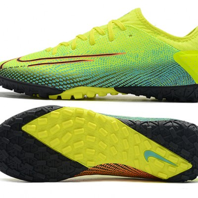 Nike Vapor 13 Pro TF Yellow Green Black Red Football Boots