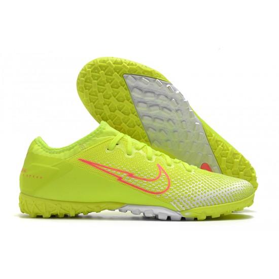 Nike Vapor 13 Pro TF Yellow Green Red White Football Boots
