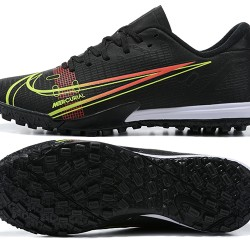 Nike Vapor 14 Academy TF Low Mens Black White Green Red Football Boots