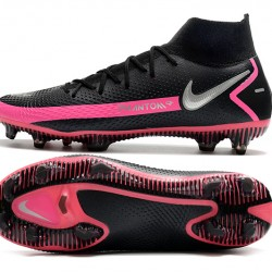 Nike Phantom GT Elite Dynamic Fit FG Black Peach Silver Football Boots
