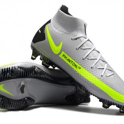 Nike Phantom GT Elite Dynamic Fit FG Green Black Grey Football Boots