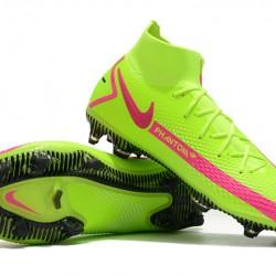 Nike Phantom GT Elite Dynamic Fit FG Peach Green Football Boots