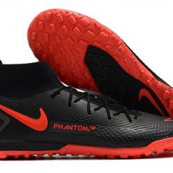 Nike Phantom GT Elite Dynamic Fit TF Black Orange Football Boots