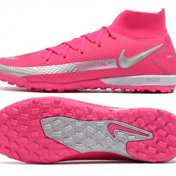 Nike Phantom GT Elite Dynamic Fit TF Silver Peach Football Boots