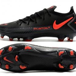Nike Phantom GT Elite FG Black Orange Football Boots