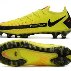Nike Phantom GT Elite FG Black Yellow Peach Football Boots