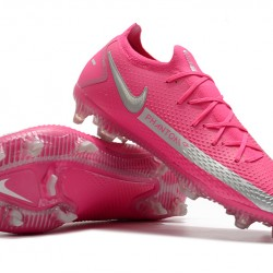 Nike Phantom GT Elite FG Silver Peach Football Boots