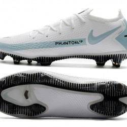 Nike Phantom GT Elite FG White Blue Football Boots